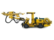 The high mobility Diamec MCR U6 underground core drilling rig available from Atlas Copco