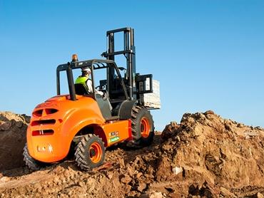 Ausa C400 Rough Terrain Forklift