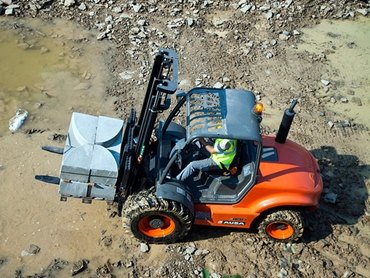 Ausa C350 Rough Terrain Forklift