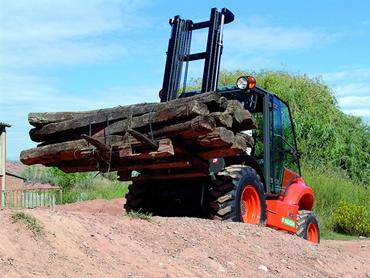 Ausa C300 Rough Terrain Forklift