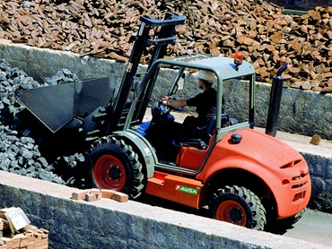 Ausa C250 Rough Terrain Forklift