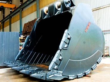 JEC mining excavator bucket