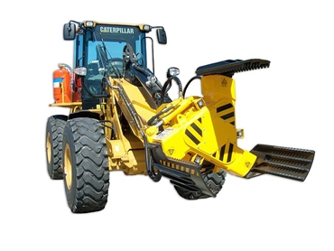 The unique JEC T3 tyre handler is ideal for underground use