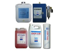 Large range of lubricants and accessories