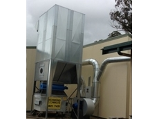 Australian Dust Control designs and installs new reverse flow dust collector for manufacturer