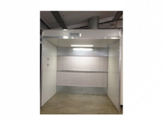 3m Spray Booth at St John's High School, Woodlawn NSW