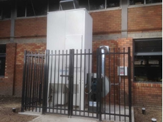 Shaker Filter Unit Model S40 at St Pius X High School, Adamstown NSW