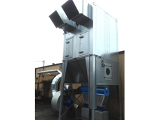 Model ASF2 DHLK Reverse Flow Dust Extraction System