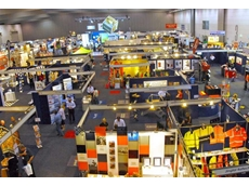 Panoramic view of the Safety in Action show