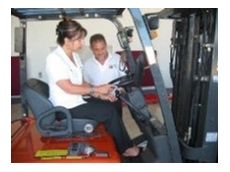 Personalised forklift training
