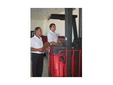 Students receive forklift training and help to find work