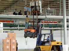 It is illegal to use anything other than an approved work platform to lift people with a forklift