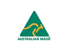 The iconic green-and-gold AMAG logo