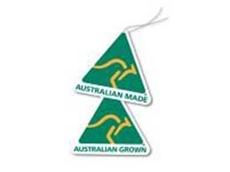 Suppliers can highlight their Australian Made certification by incorporating the Australian Made, Australian Grown logo on their product profiles