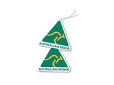 Look for the green-and-gold kangaroo logo to confirm it's Australian Made