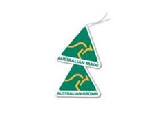 The green-and-gold AMAG kangaroo logo has been identifying genuine Aussie products and produce for almost three decades