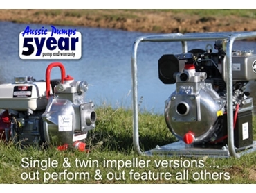 Single and twin impeller models to suit your requirements