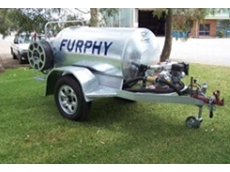 Furphy heavy duty water carts with Aussie Fire Chief fire pumps