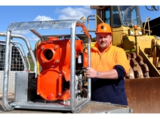 The new QP40T Mine Boss is designed for pumping solids laden dirty water at mines and construction sites