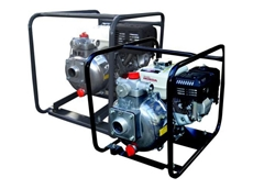 Portable high pressure pumps ideal for fire fighting