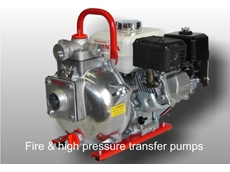 High performance fire and high pressure transfer pumps