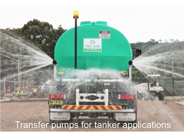 High quality Transfer Pumps for industrial tanker applications