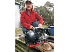 Addressing nitrogen deficiency in soil with Aussie poly pumps