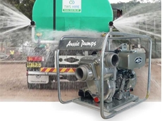 "Aussie Pumps 3"" and 4"" Kubota diesel powered pumps are engine match tested to ensure performance and smooth running even under load"