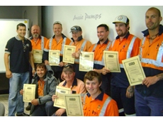 The Worth team graduate from the Aussie Pro-Operator Safety Awareness course as certified operators of Class B Aussie Hydro-blasters to 7,300 psi