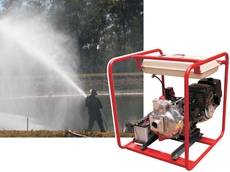 Aussie's new 'Long Ranger' fire pump is a real safety bonus in a bushfire emergency.