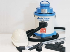 Aussie's new 24 volt wet/dry vac keeps miners safe!