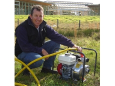 Stuart Marshman of Dungowan, chose to protect his family with an Aussie Fire Chief pump because of it's five year warranty from Australian Pump Industries