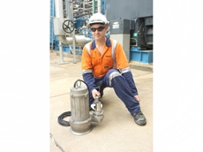 Australian Pump Industries supplies cast 316 stainless steel SFQ series pumps to power station