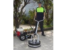 Aussie Whirl-a-way flat surface cleaner and  Aussie pressure washer