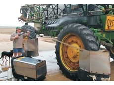 Farm equipment comes clean with Aussie Pumps heavy duty steam cleaners