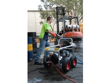 The Aussie Hurricane 5,000 psi industrial hydro blaster pressure cleaner has been upgraded to make it more robust and user friendly