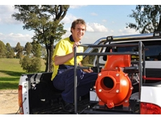 "At 174,000 litres per hour flow the Aussie 6"" pumps is a real water mover"