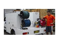 Drain cleaning jetter
