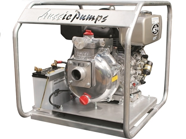 New Mr T firefighting pumps with Kubota diesel engines