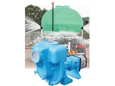 The new high head semi trash pump from Australian Pump combines high head performance with the ability to handle drilling fluid and dirty water.