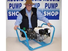Col Rowland with Aussie Kappa 43, a Honda 5.5HP engine