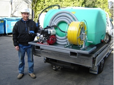 Self contained fire protection kit from Australian Pump Industries