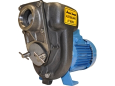 The Aussie B2KQA stainless steel semi trash pump is corrosion-resistant for long trouble-free life