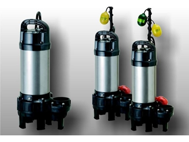 Corrosion resistant Sewage, Effluent and Saltwater Pumps