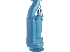 "Tsurumi's new slim 8"" submersible KRSU for sewage bypass"