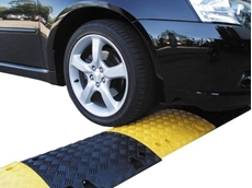 Rhino speed humps make carparks and roads safe