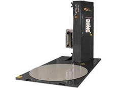 The Wulftec SML-200 Semi-Automatic Pallet Wrapper available from Australian Warehouse Solutions