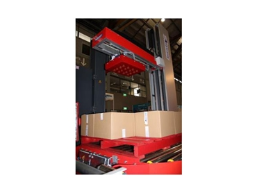 MLP-12, Low Cost Mini Palletiser with optional integrated stretch wrapper