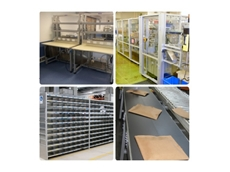 Aluminium profile is easily used for multiple industrial applications, including workbenches, machine guards, shelving and parts racks and conveyors