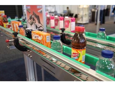 LowPro slat conveyors – suitable for bottles, cans and cartons
